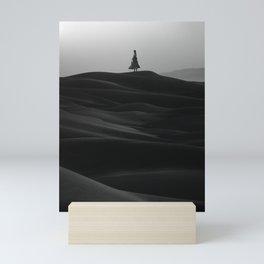Monochrome Savior Mini Art Print