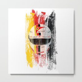 Sebastian Vettel #5 - 2017 Metal Print