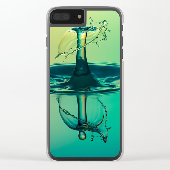 drop of water Clear iPhone Case