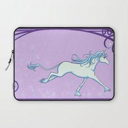 The Last Unicorn - See How She Sparkles Laptop Sleeve