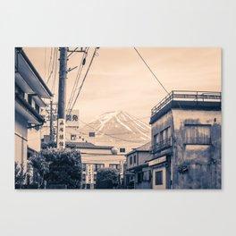 Funatsu Fujikawaguchiko Canvas Print