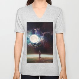 The Surface Of Things Unisex V-Neck
