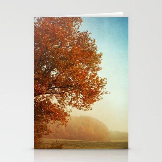 Fall symphony Stationery Cards