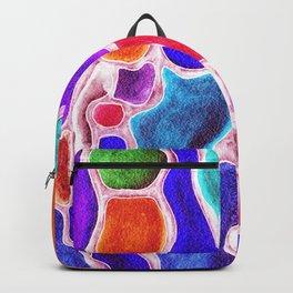 Flowy Gemstones Backpack