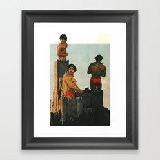 Casual Friday Happens All Over The World Framed Art Print