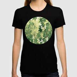 Green Japanese Maple T-shirt