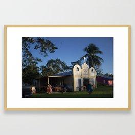 Indian Church Framed Art Print