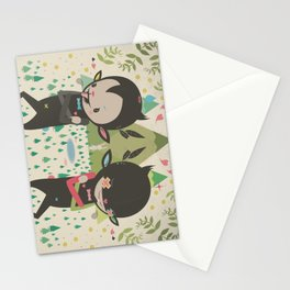 MAGIC LAVA 山 GOLD COINS Stationery Cards