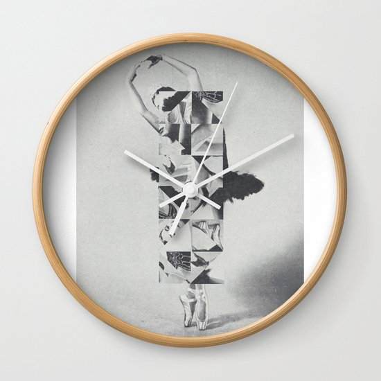 Diamond Dancer Wall Clock