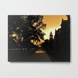 Rainy Sunshine--Photography Prints Metal Print