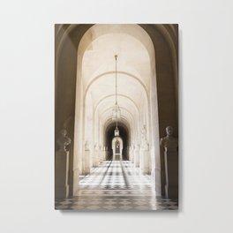 Versailles Hallway Metal Print