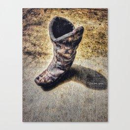 Texas Sandals Canvas Print