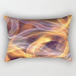 Abstract Shiny Night Lights 6 Rectangular Pillow