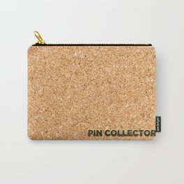 Cork board Carry-All Pouch