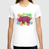 hippo T-shirts featuring Hippo by Katy Welte