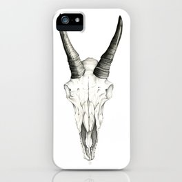 Mountain Goat Skull iPhone Case