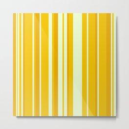 Minimal Art Lines 12B Metal Print