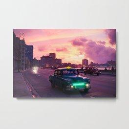 Havana in Cuba Landscape Metal Print