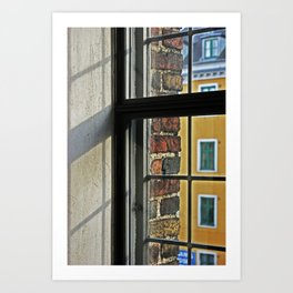 Window view 5 Art Print
