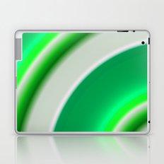 green and white Laptop & iPad Skin