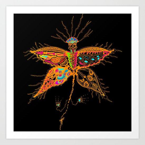 Butterfly Spirit Art Print
