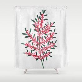 Pyracantha Shower Curtain
