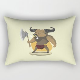Minotaur Rectangular Pillow