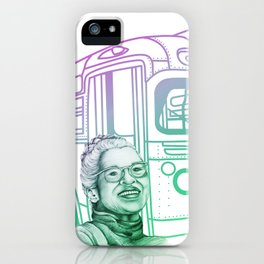 Rosa Parks, Courageous Woman iPhone Case