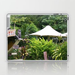 Fruit Stand in Tropical French Polynesia Laptop & iPad Skin