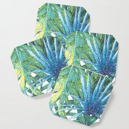 Philodendron & Flora Coaster