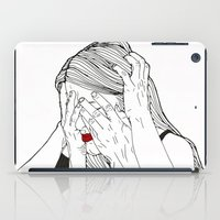 introvert iPad Cases featuring Introvert 2 by Heidi Banford