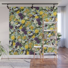 Floral C Wall Mural