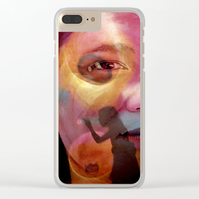 The TEACHER Clear iPhone Case