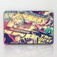 comics iPad Cases featuring Comics by Miss-Lys