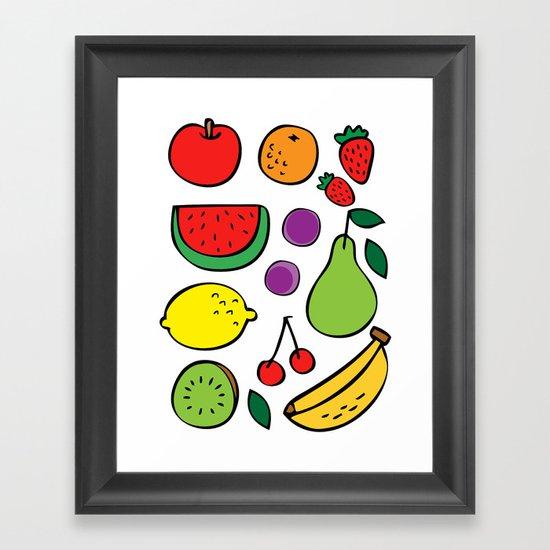 Fruit Paradise Framed Art Print