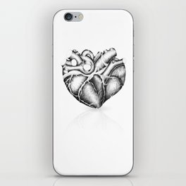 Just a heart iPhone Skin