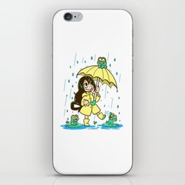 Best Frog Girl - Tsuyu Asui iPhone Skin