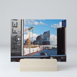 Port of Hamburg Mini Art Print