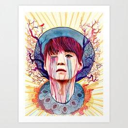 Draining Stress Art Print
