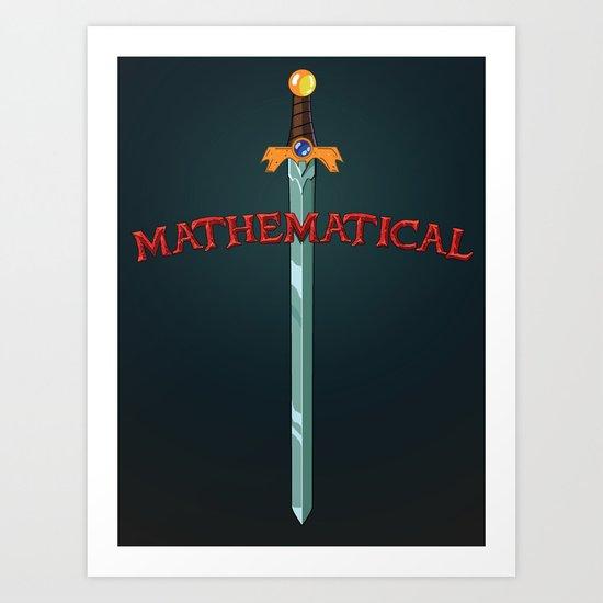 Mathematical Art Print