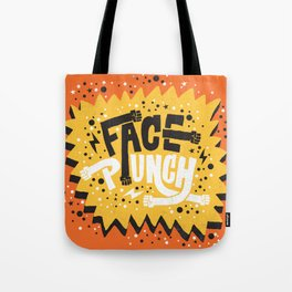 FACE PUNCH Tote Bag