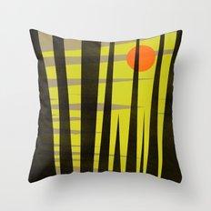 Bright Nite Throw Pillow