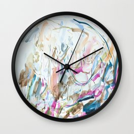 Surf Lessons Wall Clock