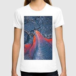 Kilauea Volcano Lava Flow. 3 T-shirt