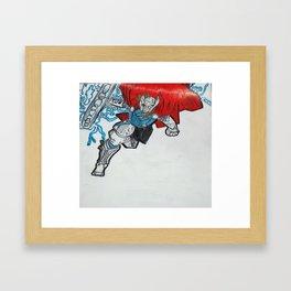 Lord of Thunder Framed Art Print