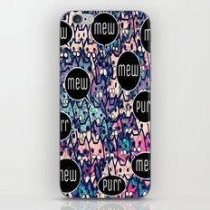 cat-85 iPhone & iPod Skin