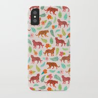 tigers iPhone & iPod Cases featuring Tigers by Abby Galloway
