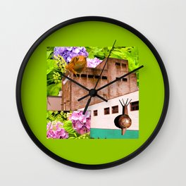 Ecological Revolt Wall Clock