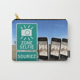 Zone Selfie - Souriez Carry-All Pouch