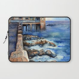 Walking with Steinbeck on Cannery Row Laptop Sleeve